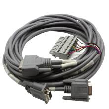15 Pin DSUB Kabelkonfektion mit Klemmleiste