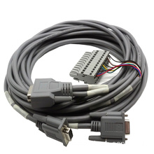 15 Pin DSUB Cable Assembly with terminal block