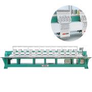 Machine de broderie plate de multi têtes