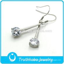 TKB-E0088 Antique Ladies Jewelry Chanderlier Small cz Drop Diamond Earrings