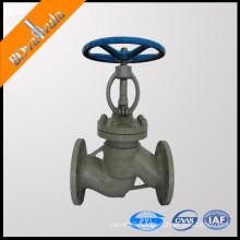 Bellows Seal Globe Valve cast steel globe valve pn25