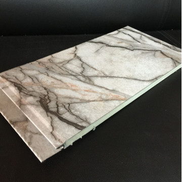 Commercial PU Decorative Siding Sandwich Panel