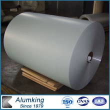 925 Mm Ancho Al1060 Color crema Coated Aluminio Coil