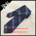 El último nuevo diseño Fashion Top Plaid Jacquard Mens Custom Silk Ties