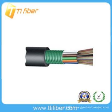 Câble de fibre optique extérieur à tube télescopique GYTS à 96 bornes