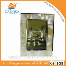 Luxury Golden Mother-of-pearl Silver plated Photo Frames