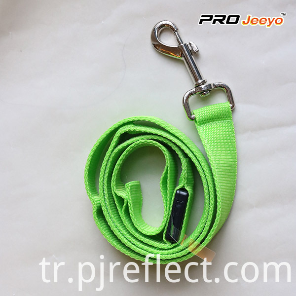 High Visibility Safety Reflective Green Pets LeashesSVP-ZD006