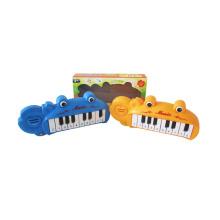 Órgão Elétrico de Plástico com Luz e Música (10210092)
