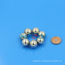 NdFeB cube de boules magnétiques de terres rares