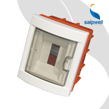 SAIP/SAIPWELL Quick Offer 190*220*90mm 8 Gang Weatherproof Dustproof Electric Distribution Box With Power Outlets
