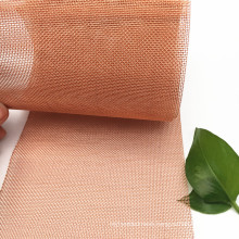 14 30 40 50 60 Mesh Plain Weave Red Copper Woven Mesh Used For Sound-Proofing