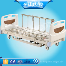 Extra low 3- function electric adjustable bed for nursing appliance
