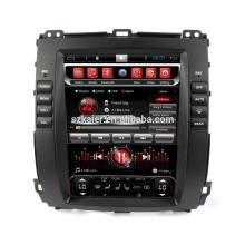 Núcleo Octa! Dvd do carro do andróide 8,1 para PRADO 2008 com a tela capacitiva de 10,4 polegadas / GPS / relação espelho / DVR / TPMS / OBD2 / WIFI / 4G