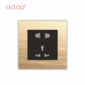 ACTOP новый дизайн Умный отель выключатель розетка 2018