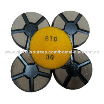 Copper bond diamond grinding polishing pad