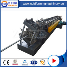 Z Roll Forming Machine With Punching