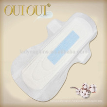 OEM brand ultra thin cottony different types of sanitary napkins