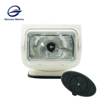 Genuine Marine Hot Sell 35W Search Light With Remote Controller For Boat Marine Yacht