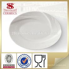 Vajilla de decoración que sirve plato de melamina plato