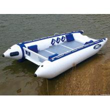 Barco inflável catamarã de alta velocidade