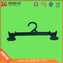 Customized Plastic PS Clothes Hanger with Clip