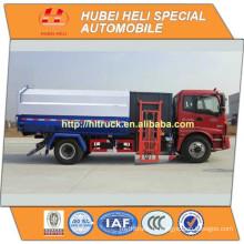 FOTON AUMAN 4x2 12m3 боковой погрузчик мусоровозы 160hp горячая продажа для экспорта