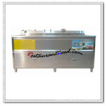 F044 300L Laveuse de fruits et légumes commerciale simple réservoir
