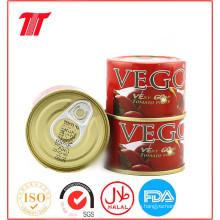 2,2 Kg de Pasta de Tomate en Conserva, Salsa de Tomate, Tomate Ketchup de Color Natural