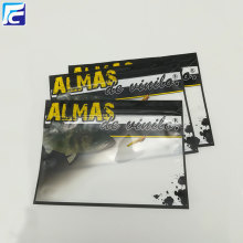Cheap price for Fishing Lure Zipper Packing Bags Transparent plastic fishing lure pouch for fishing hooks export to Indonesia Importers
