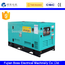 26KW diesel generator set with Yanmar engine canopy type control panel