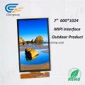 Monitor da tela de toque de 7 * 1024 * 600 Transmissive