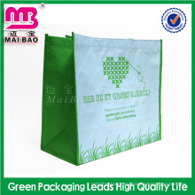 Bolso de compras plegable no tejido de la tienda de comestibles al por mayor respetuosa del medio ambiente