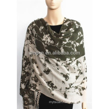 Printed Acrylic Stole with fringe