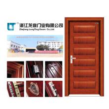 Puerta interna interior de madera de la chapa (LTS-301)
