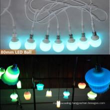 Stage light 80mm RGB LED Hanging Bulb
