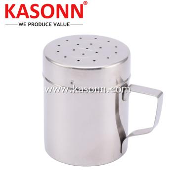 Gewürz-Gewürz-Shaker aus Metall mit Griff