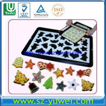 High quality Plastic Cookie Cutter with 24pcs Christmas Shape in 1