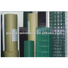 Rodillo de malla de alambre soldado galvanizado de 15m de largo