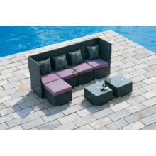 DE-(486) outdoor furniture garden rattan sofa