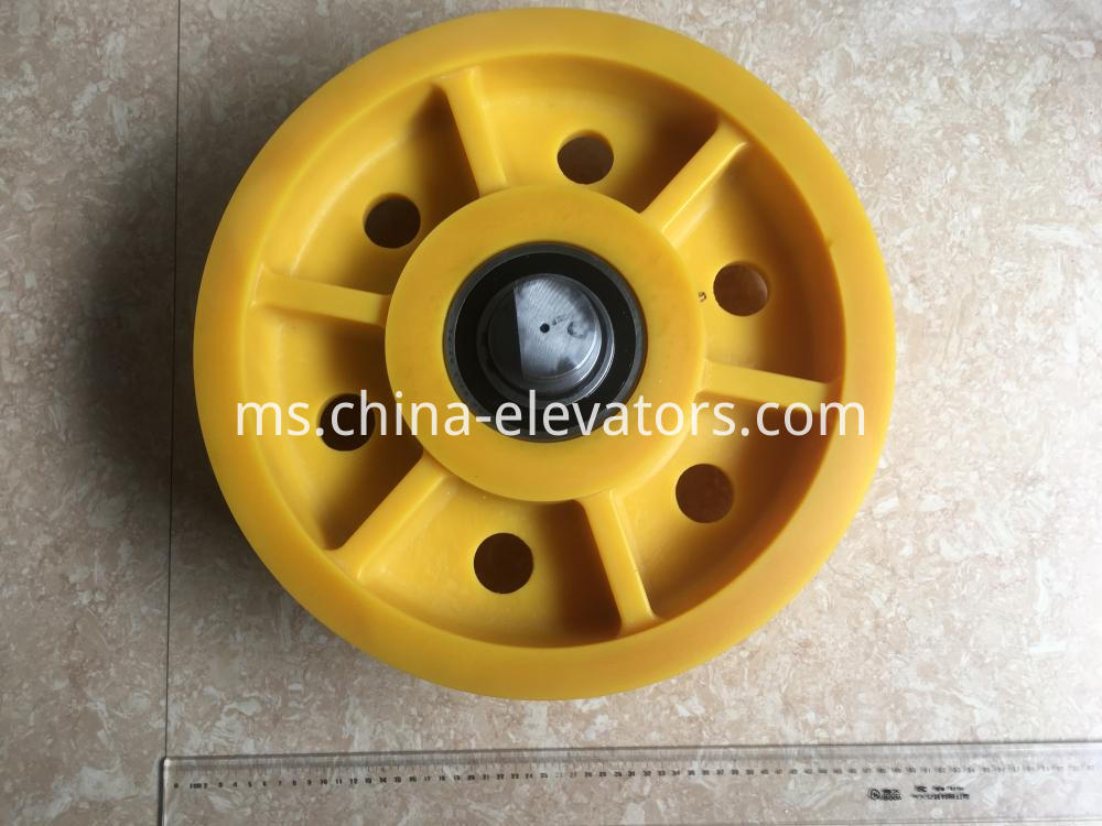 Counterweight Pulley for ThyssenKrupp Elevators 400*7*8