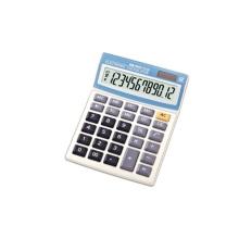Calculadoras de mesa padrão de exibição de bateria solar