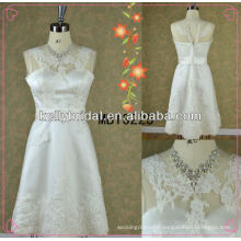 Short embroidered wedding dresses /bridal gown /prom dresses