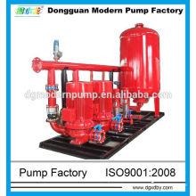high pressure fire pump system