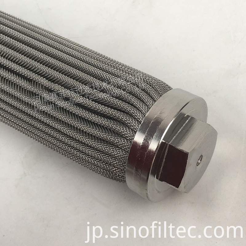 Wire Mesh Pleated Filter Element