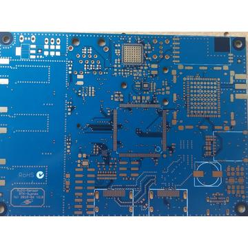 4 layer 1.4mm blue solder ENIG PCB