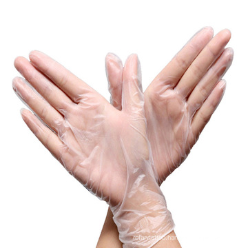 Disposable PVC Gloves Personal Protective Equipment Safety Gloves Textured Food Grade Disposable Powder Free Vinyl Gloves