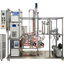 CBD Oil Distiller Short Path stainless steel  Molecular Distillation manufacture with Diffusion pump for free