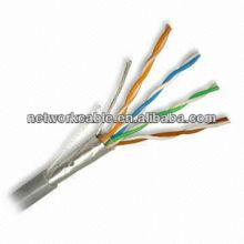 FTP cable de red de cobre Cat5e Ethernet de China Marca