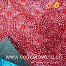 Cuir en PVC embossé (SASF03819)