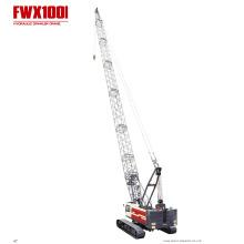 Grue sur chenilles hydraulique de machines de construction
